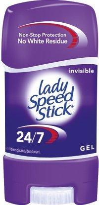 LADY SPEED STICK GEL INVISIBLE DRY 48 G