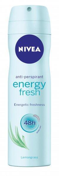 NIVEA ANTIPERSPIRANT SPRAY ENERGY FRESH 150 ML