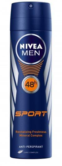 NIVEA MEN ANTIPERSPIRANT SPRAY SPORT 150 ML