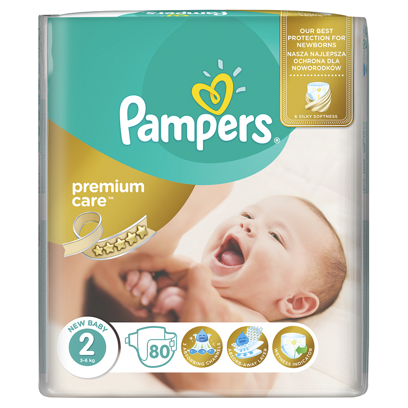 PAMPERS PREMIUM CARE MINI 80 KS 3-6 KG