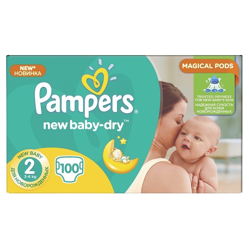 PAMPERS ACTIVE BABY PLENY GIANTPACK MINI 100 KS 3-6 KG