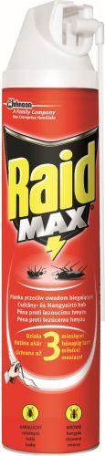 RAID MAX PĚNA NA LEZOUCÍ HMYZ 400