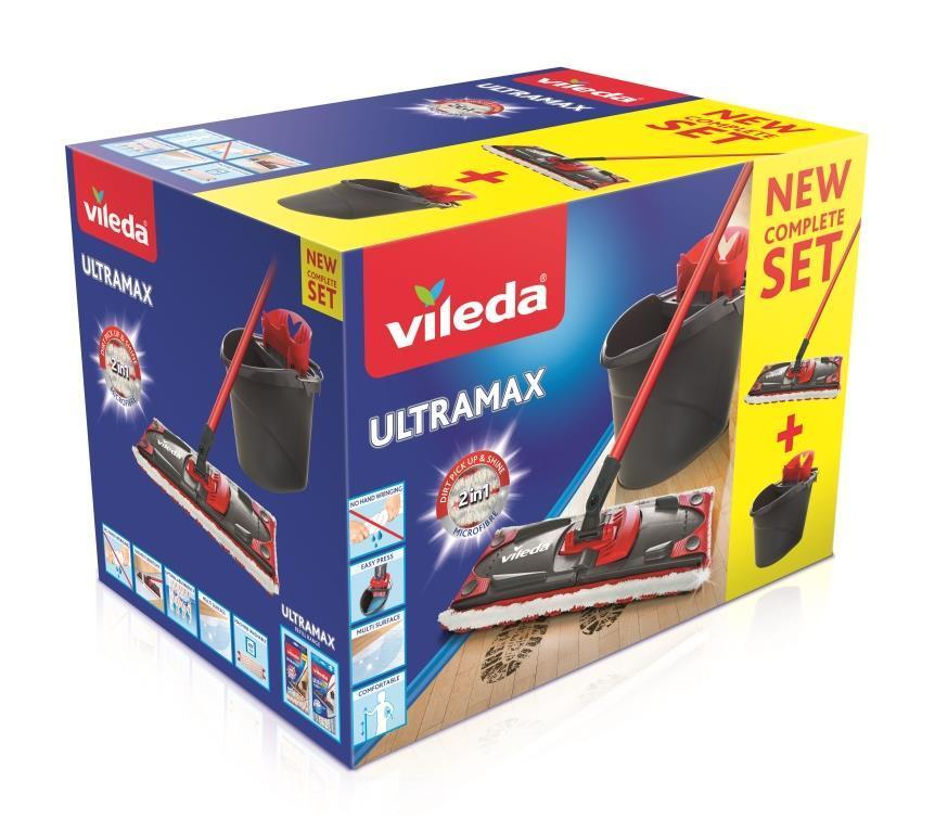 VILEDA ULTRAMAX MOP SET 2V1 NEW 140910